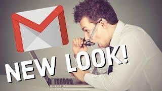 جديد Gmail نظرة! تجول سريع