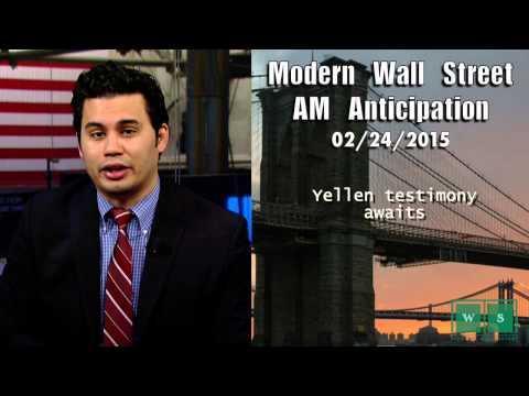 Modern Wall Street AM Anticipation: February 24, 2015