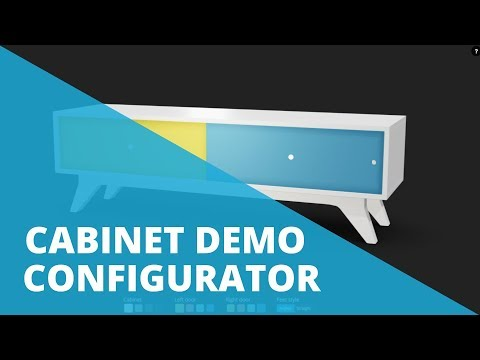 3D Product Configurator Furniture | DEMO | Sketchfab