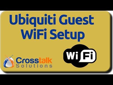 Ubiquiti Guest WiFi Setup - YouTube