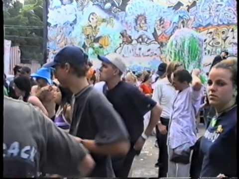 2036 Rave 1996 @ Alexandria Graffiti Hall of Fame Footage
