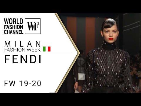 Fendi Fall-winter 19-20 Milan Fashion Week