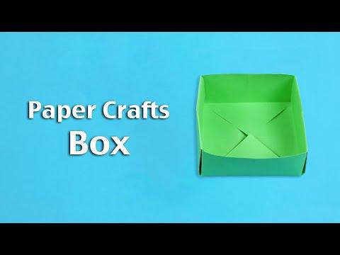 הכנת קופסא מנייר