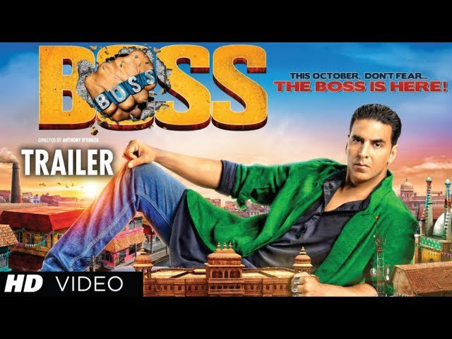 BOSS Trailer Akshay Kumar Movie 2013 (Official) | Latest Bollywood Movie Travel Video
