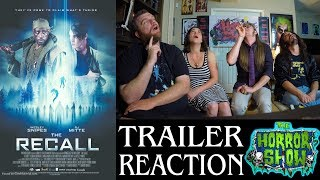 """""""The Recall"""" 2017 Action Horror Movie Trailer Reaction - The Horror Show"""