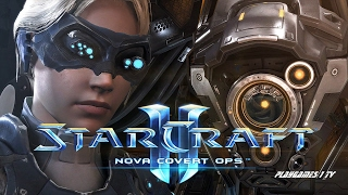 СТАРКРАФТ 2 Нова Незримая Война Фильм Starcraft 2  Nova Covert OPS сюжет HD1080p на русском видео