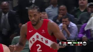 Toronto Raptors vs Milwaukee Bucks : May 23, 2019