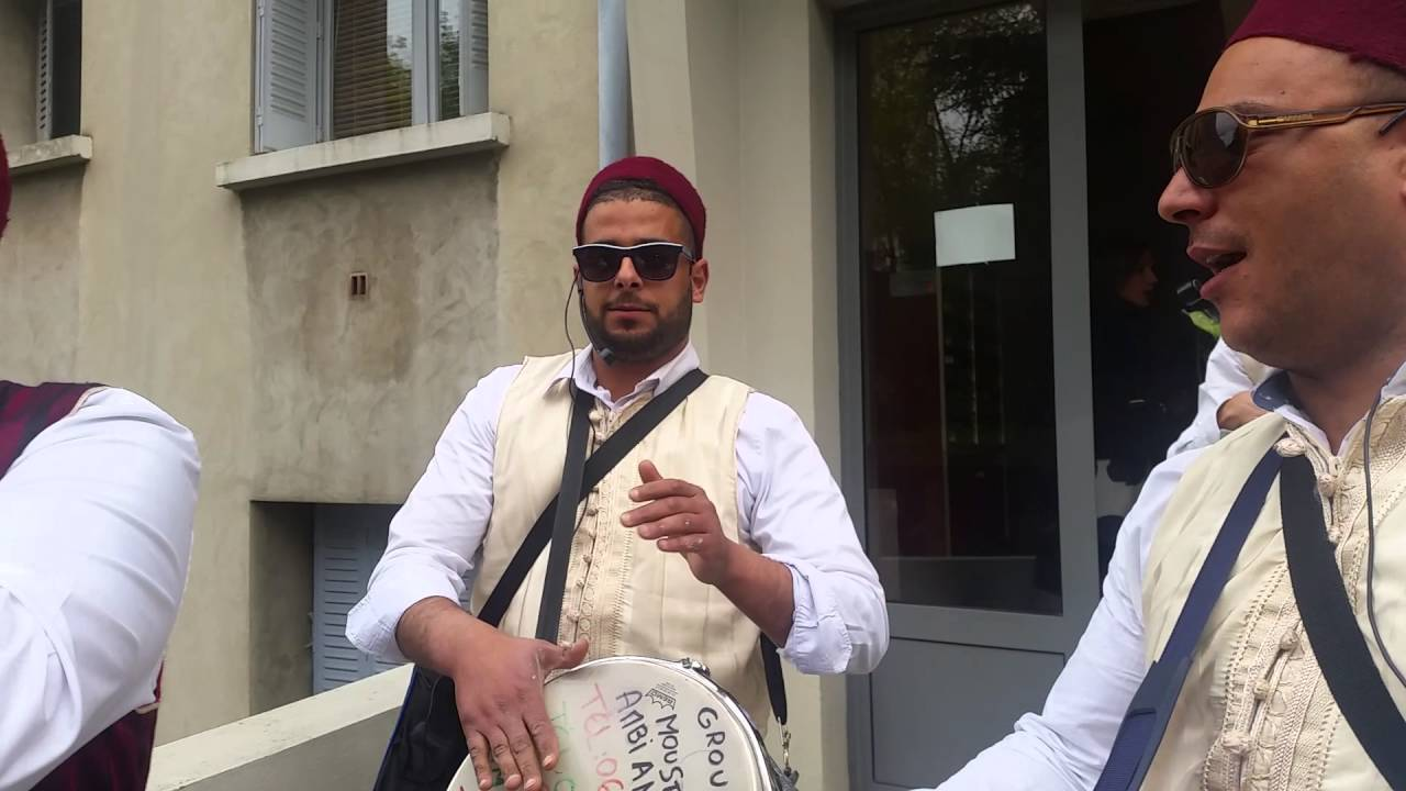groupe tabal tunisien en france moustapha ambiance mariage tunisien kabyle  le 8avril 2016