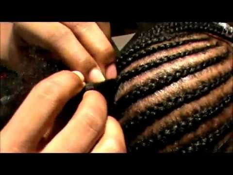 How To Braid Cornrows Tutorial Youtube