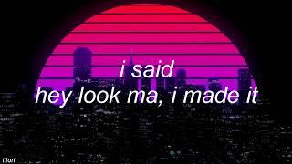 Video panic! at the disco - hey look ma, i made it (lyrics) download MP3, 3GP, MP4, WEBM, AVI, FLV Agustus 2018