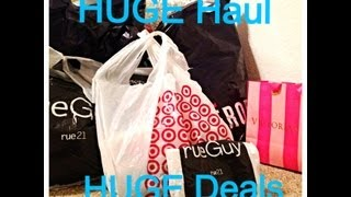 HUGE Haul/HUGE Deals!! (Part 1) Thumbnail