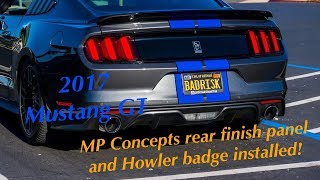 2017 Ford Mustang GT [Ep. 24] MP CONCEPTS PANEL AND REAR HOWLER BADGE!