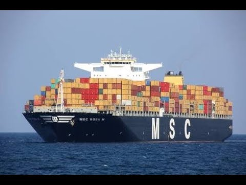 MSC SHIPPING,2ND LARGEST SHIPPING COMPANY