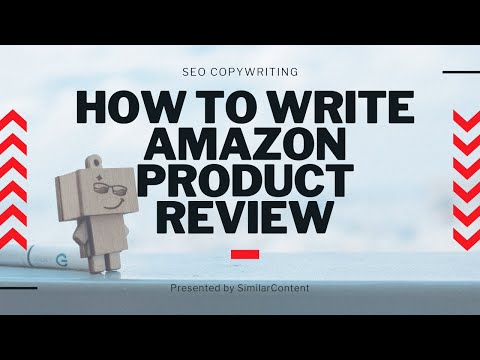 How To Write Amazon Product Reviews For Affiliate Niche Websites