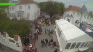 Quad Copter Aerial photography at CRAA boxcar race