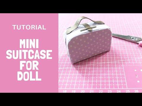 Mini Suitcase Tutorial by Mara Dolls
