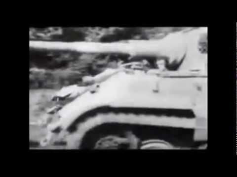 Deutscher Panzer VI Tiger II Königstiger, seltene Originalaufnahmen Doku und Gemälde