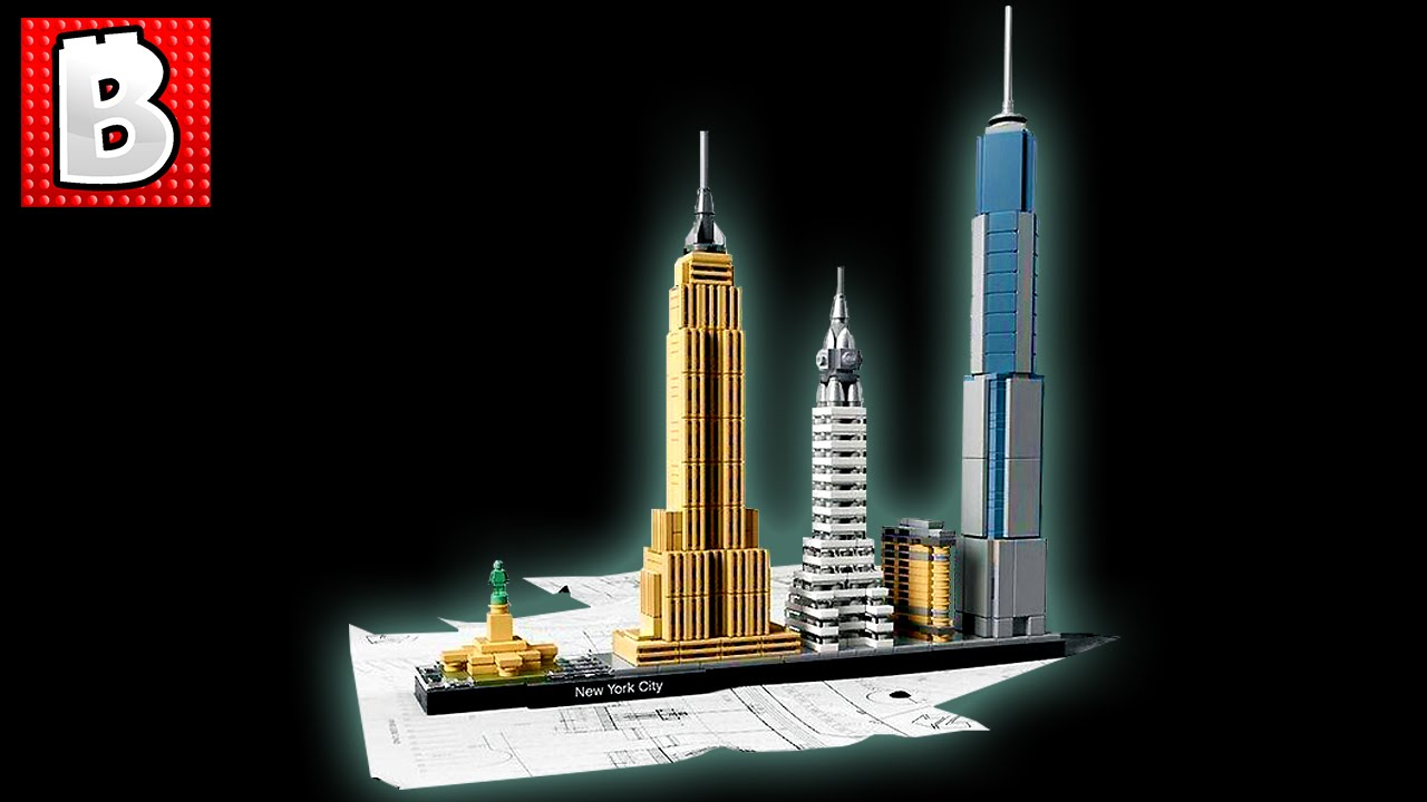 lego architecture new york. Lego Architecture New York City Set 21028 Unbox Build Time Lapse Review YouTube