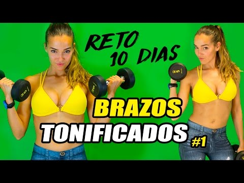 RUTINA BRAZOS PARA CHICAS || RETO BRAZOS TONIFICADOS #1 ||PATRI FIT MODEL