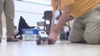 Army scientists enrich math education with robots