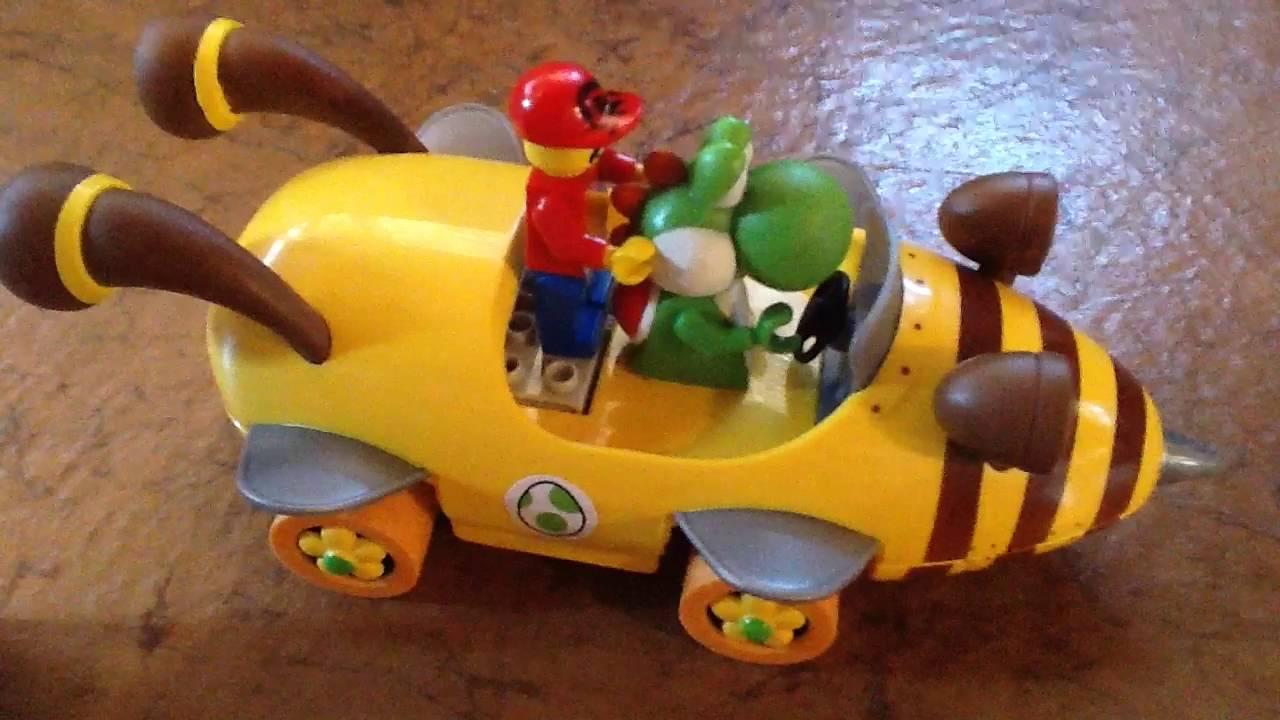 trailer mario and yoshi's krazy kart race  youtube