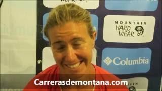 Teresa Nimes, bronce en CCC 2016 del Ultra Trail Mont Blanc. Entrevista por Mayayo.