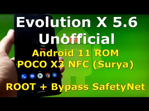 Evolution X 5.6 Unofficial for Poco X3 [surya] Android 11