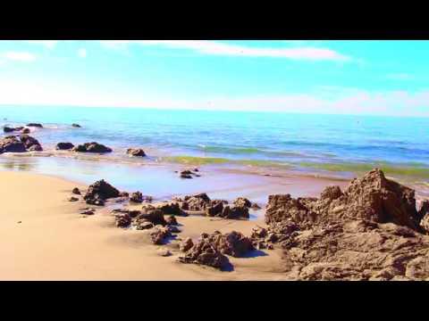 Relaxing Nature Music - Waves Crashing ~ Pacific Ocean ~ California Beach ღღ