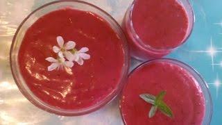фруктовый мусс.Мусс ягодный потрясающе вкусно и легко./Fruit mousse