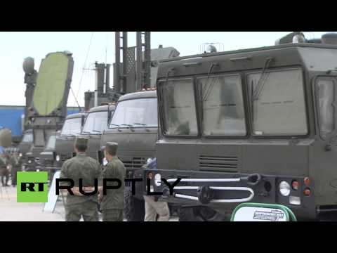 Russia: Military expo flaunts Khrizantema supersonic anti-tank missile