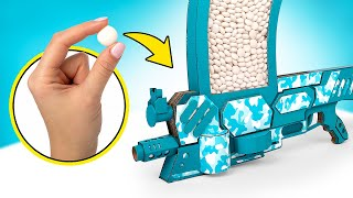 How To Make Mentos Blaster From Cardboard