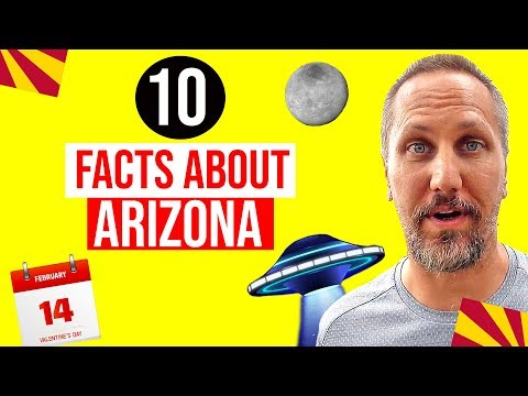 10 Fun Facts About Arizona | Weird and Interesting Arizona Facts