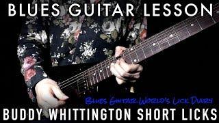 Скачать TAB Amp SLOW Buddy Whittington Blues Licks In Fm Blues Guitar Lesson 204