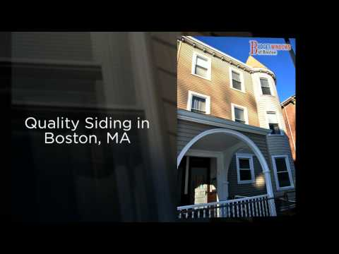 Replacement Windows Boston, MA Siding Installation - Budget Windows of Boston