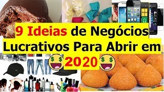 9 Ideias de Negócios Lucrativos Para 2018 / 2019