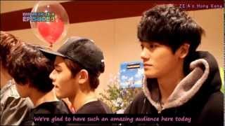[ENG SUB] 130322 Empire of ZE:A Episode 3 - Behind The Scenes