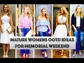 MATURE WOMEN'S OOTD IDEAS FOR MEMORIAL WEEKEND!I