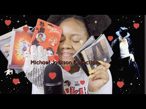ASMR Michael Jackson Collection | Tapping, Rambling ~