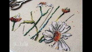 Вышивальная неделя февраля\готовые работы и новый процесс\вышивка крестом