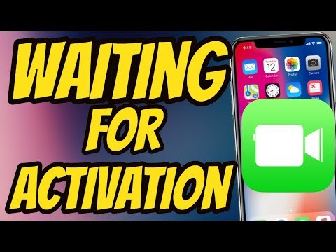 how to activate FaceTime  On IOS 12 FaceTime  waiting for activation  IOS 12 Fixed