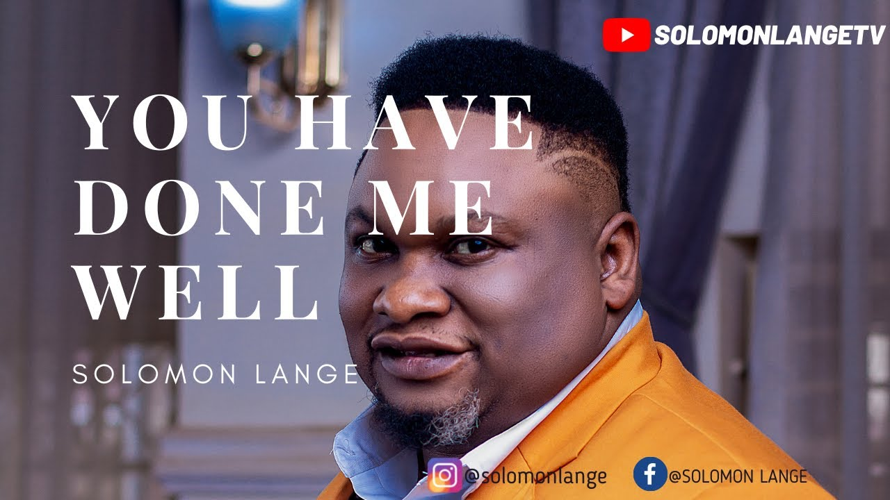 Download SOLOMON LANGE: YOU HAVE DONE ME WELL (SWAHILI) OFFICIAL VIDEO.