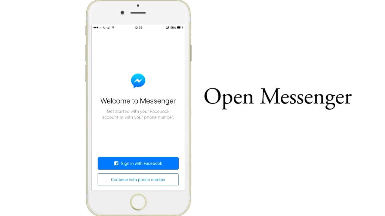 facebook messenger without facebook account