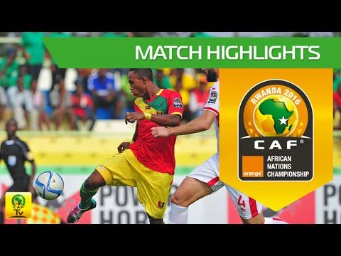 Tunisia vs Guinea | Orange African Nations Championship, Rwanda 2016