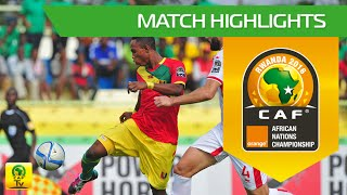 Tunisia vs Guinea | Orange African Nations Championship, Rwanda 2016