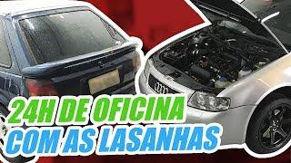 24 HORAS DENTRO DA OFICINA (ft. Audi S3, Podrito, Passat Variant)