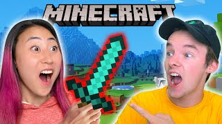 LEARNING TO PLAY MINECRAFT WITH RYAN PRUNTY!!