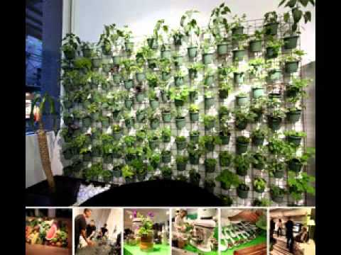 Vertical Window Garden Design - Youtube