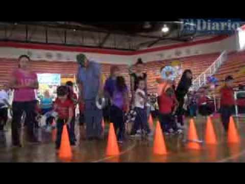 Conviven Padres E Hijos En Feria De La Actividad Fisica Youtube