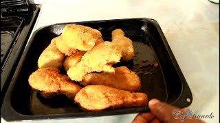 Crispy Fried Drumstick Chicken In Bread Crumbs(Black History Month) | Recipes By Chef Ricardo