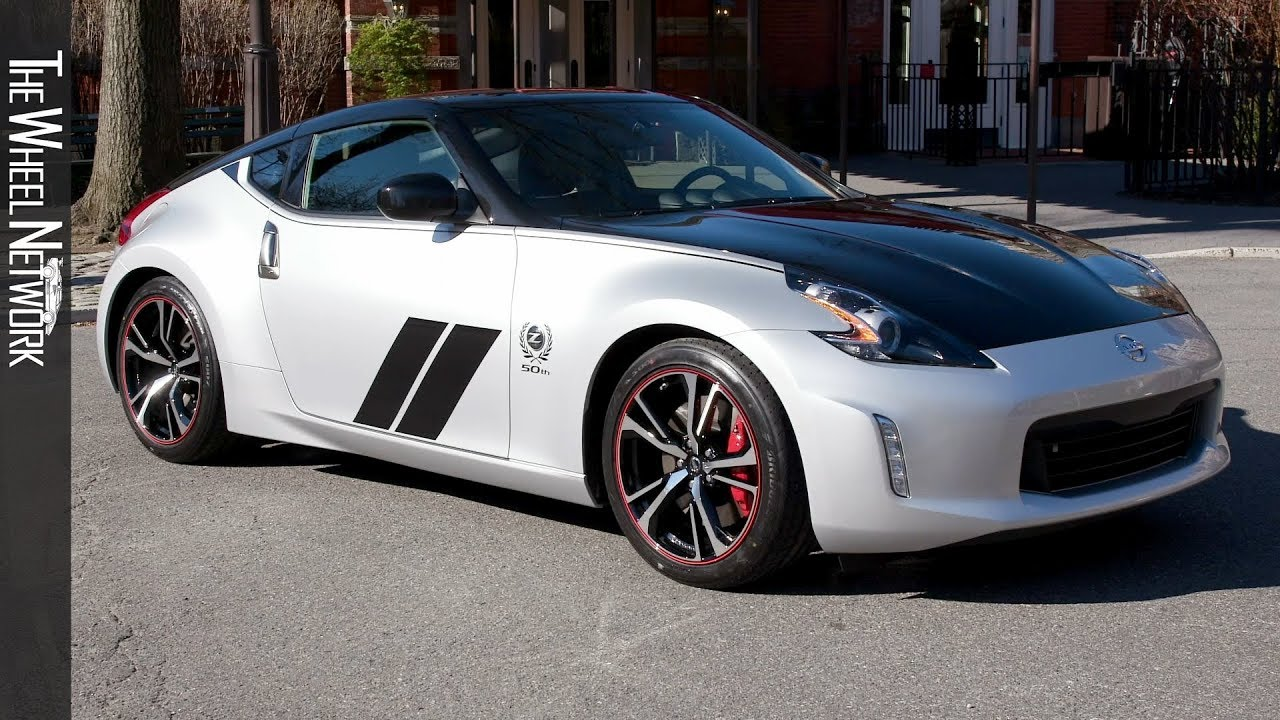 2020 Nissan 370z 50th Anniversary Edition Exterior Footage